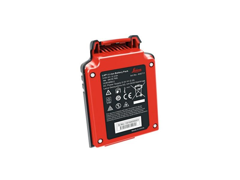 Leica Lino L4P1 Laser Level lion battery