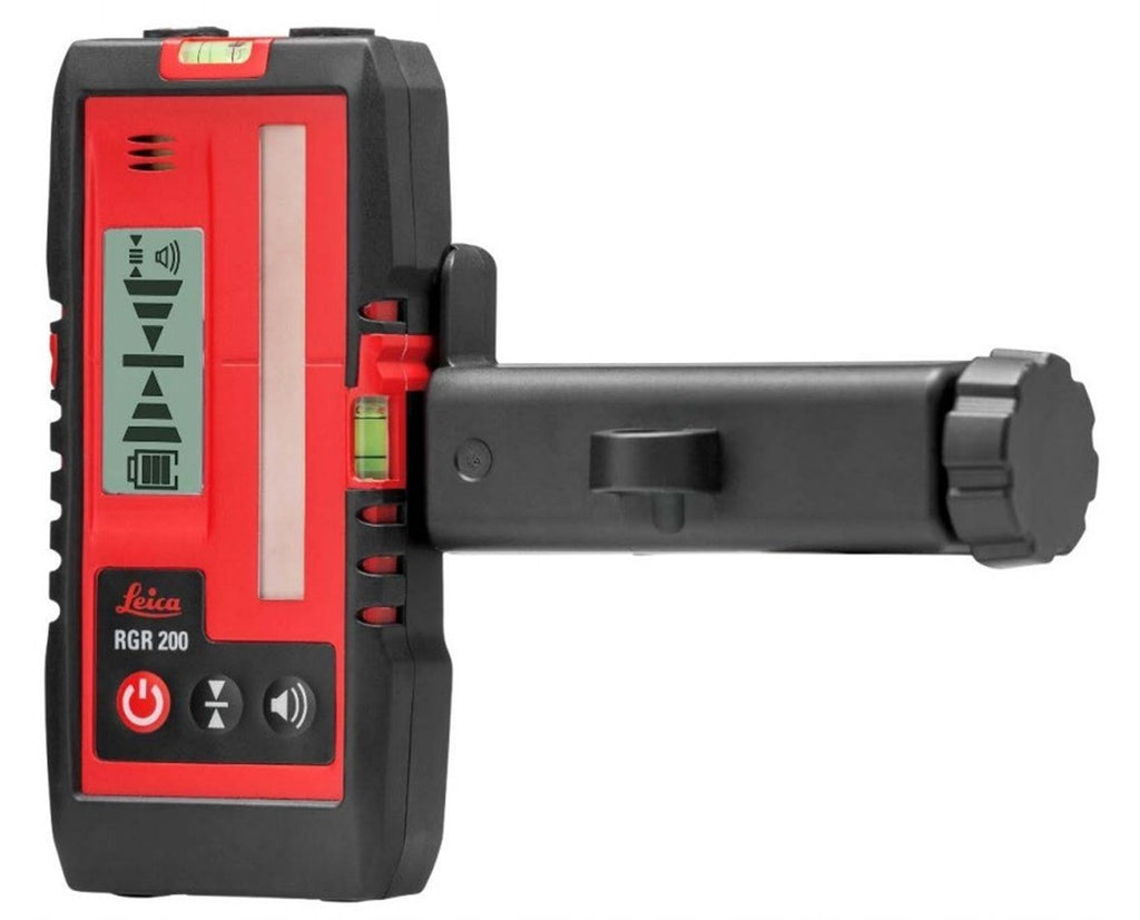 Leica Lino RGR200 Laser Receiver for red/ green Laser Level 80m range , IP65