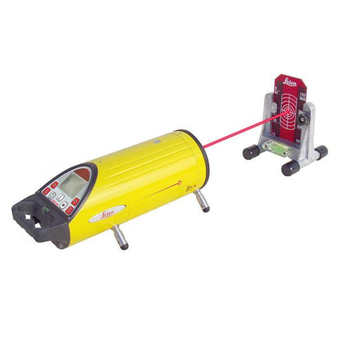 Leica PIPER Red Beam Pipe Laser Level 200 with Alignmaster, Remote, Target, & Li-Ion Batt