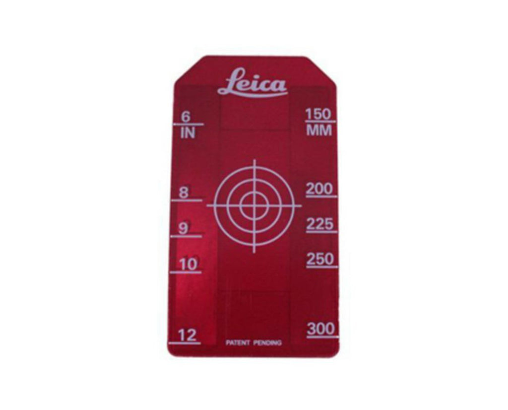 Leica Piper Target insert 150-300mm, red for Pipe Laser Level