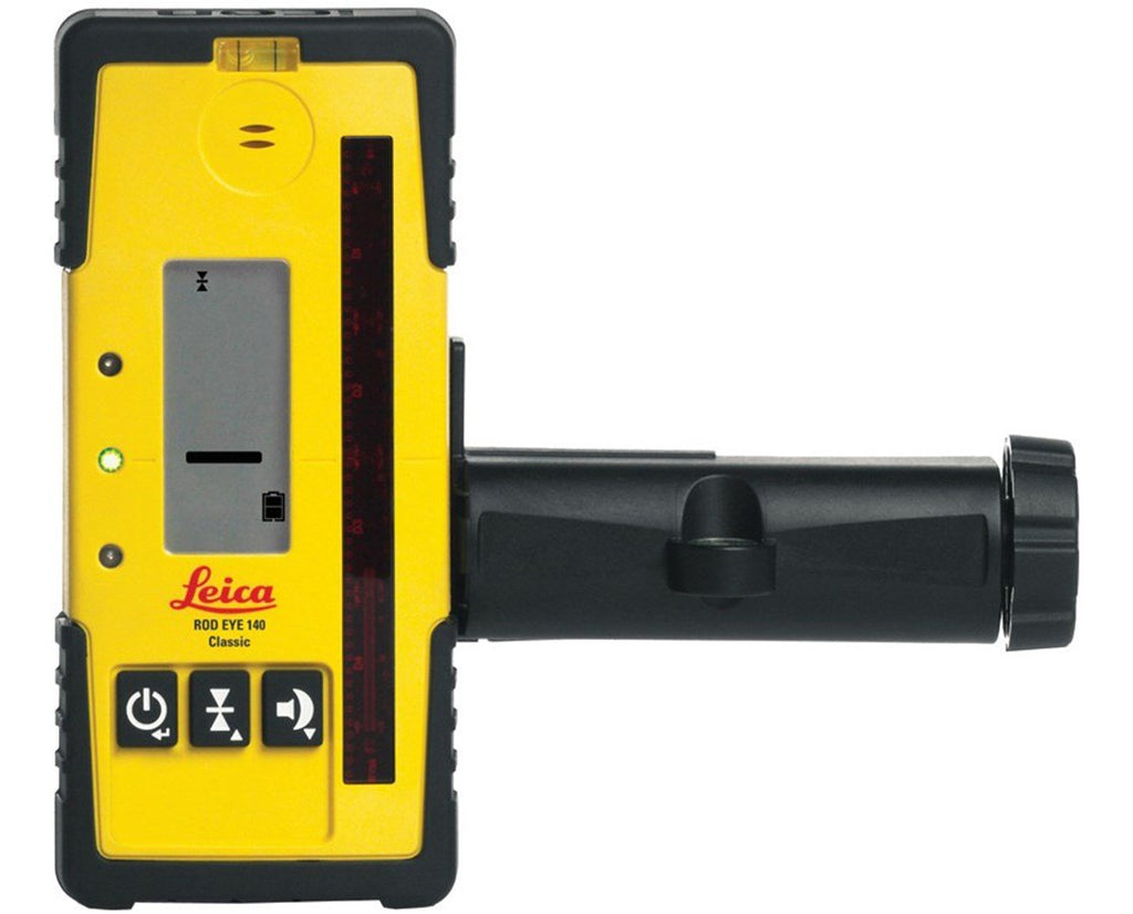 Leica Rugby 610 Rotating Laser Level with RodEye 140 Laser Receiver