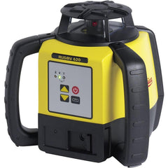 Leica Rugby 620 Rotating Laser Level with RodEye 160 Digital Laser Receiver