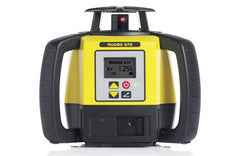 Leica Rugby 670 Rotating Grade Laser Level with RodEye 160 Digital Laser Receiver - Li ion