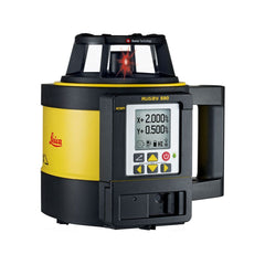 Leica Rugby 880 Rotating Dual Grade Laser Level with RodEye 160 Digital Laser Receiver - RC800