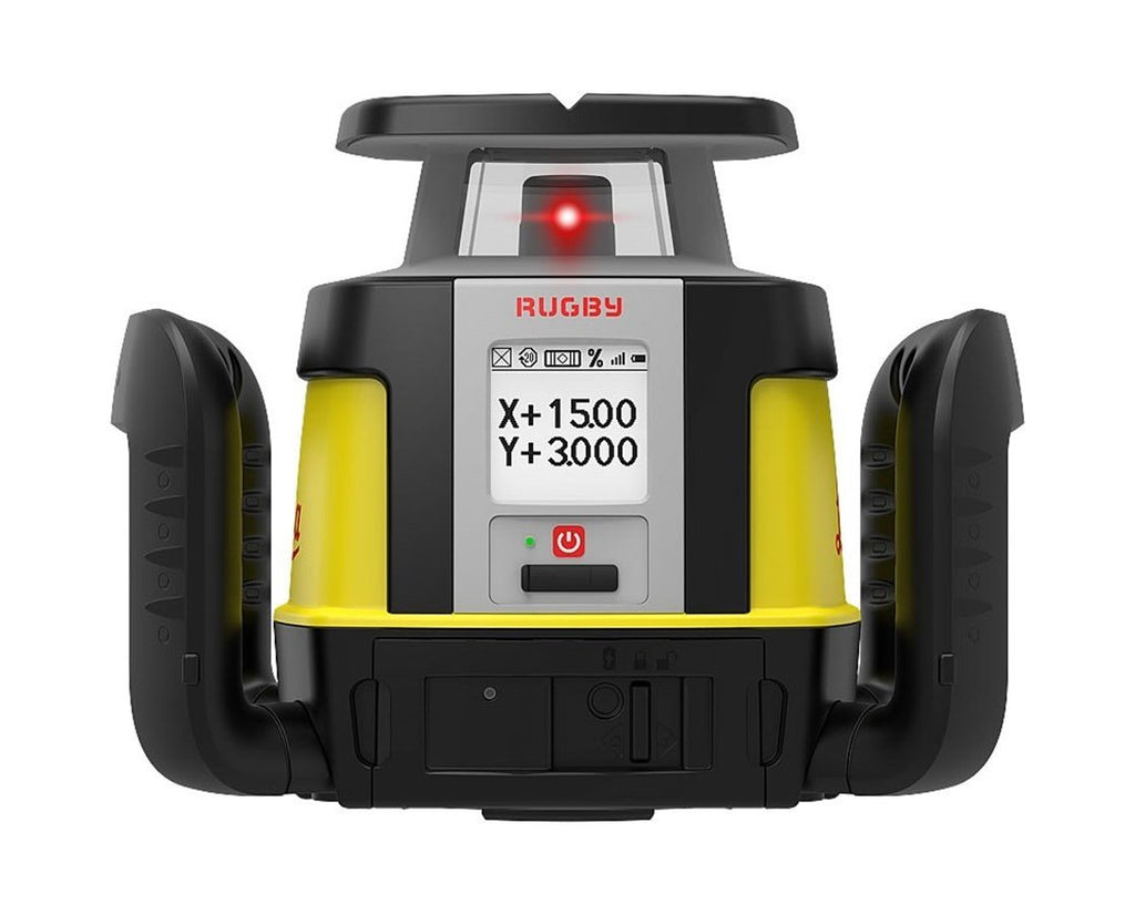Leica Rugby CLA & CLX800 w COMBO Rotating Laser Level Li-ion and charger