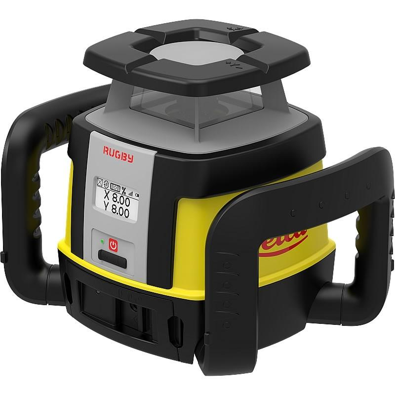 Leica Rugby CLH & CLX200 w/ COMBO Rotating Laser Level, Li-ion and charger