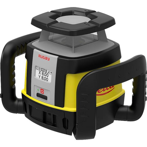 Leica Rugby CLH & CLX400 w/ COMBO Rotating Laser Level, Li-ion & charger