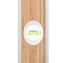 Geo Fennel M-Level 60cm ECO Bamboo Spirit Level, Strong, Durable, Lightweight Quality