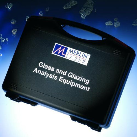 Merlin Lazer Glass Analysis Kit - Laser Thickness Gauge, TGI, Coating Detector,