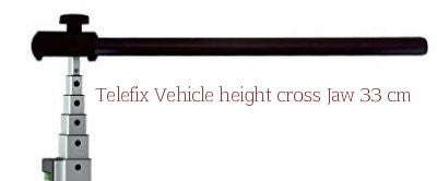 Telefix Telescopic Measuring Pole 33cm Crossbar ONLY