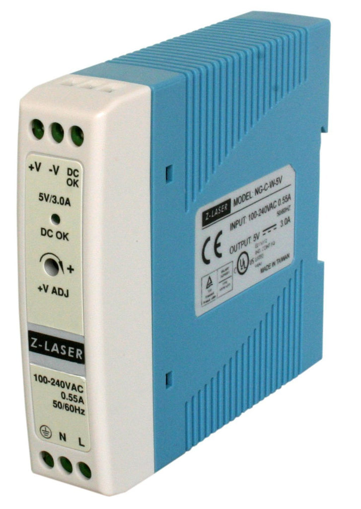 Z-Laser NG-C-W-24M Power supply unit for DIN rail in switch cabinet