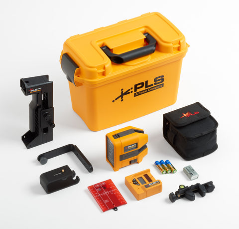 Fluke PLS 6R SYS, Cross Line and Point Red Laser System- Pacific Laser Systems
