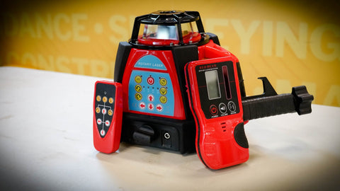Bear Polar HV Red Rotating Laser Level without Receiver