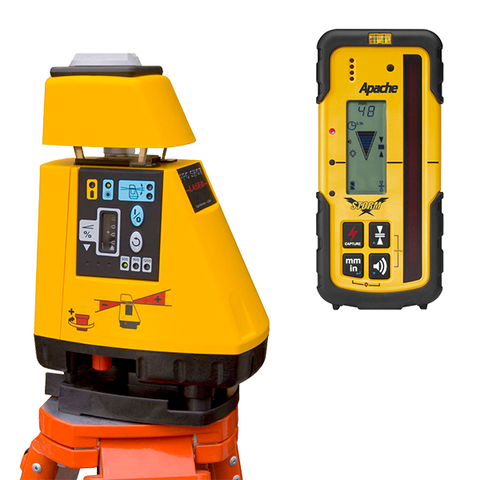 Pro Shot AS2 Magnum Rotating Grade Laser Level, AS-2 Magnum inc - Storm Receiver, Rotary Laser Tools