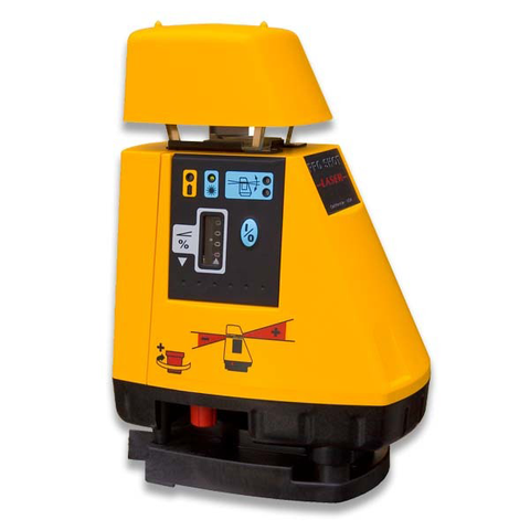 Pro Shot AS2 Rotating Grade Laser Level, AS2 inc - R8 Laser Receiver, Rotary Laser Tools