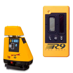 Pro Shot AS2 Rotating Grade Laser Level, AS2 inc - R9 Laser Receiver, Rotary Laser Tools