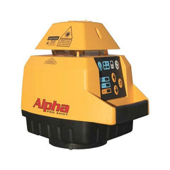 Pro Shot Alpha Rotary Laser Level with R9 Laser Receiver, Rotating Laser Tools