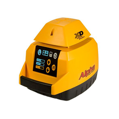 Pro Shot Alpha XD Rotating Laser Level, Alpha XD inc - R8 Laser Receiver, Rotary Laser Tools