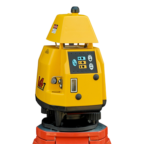 Pro Shot L4.7 Rotating Laser Level, 4.7 inc - R9 Laser Receiver, Rotary Laser Tools