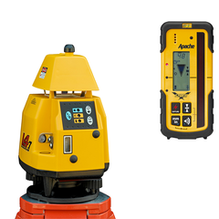 Pro Shot L4.7 Rotating Laser Level, 4.7 inc - Storm Receiver, Rotary Laser Tools