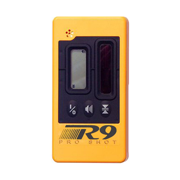 Pro Shot R9 Laser Receiver, Laser Detector for Laser Levels