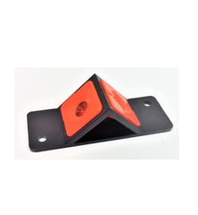 ROKC Plastic Black & Orange Dual Monitor Prism