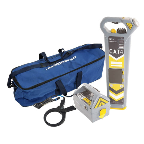 RadioDetection CAT4+ Kit Underground Services Locator, Cable Locating, Service Location