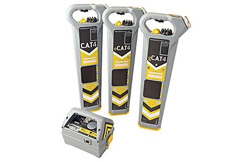 RadioDetection eCAT4+ 33kHz with depth measurement and logging Underground Services Locator, Cable Locating