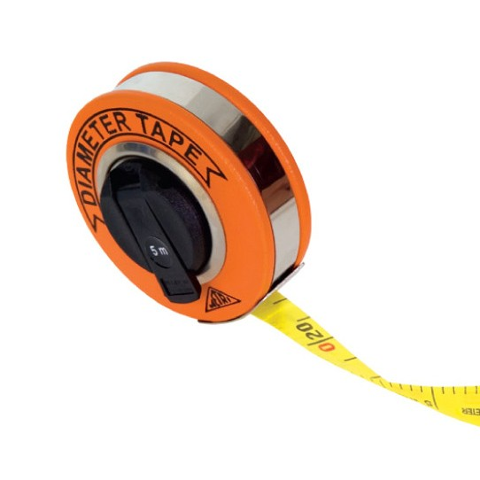 Richter 10 Meter Woven Fiberglass Diameter Tape, Measuring Tape