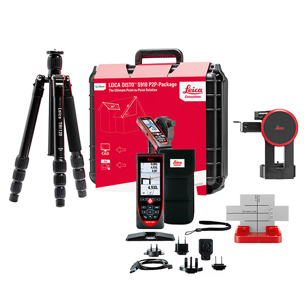 Leica Disto S910 Package Set Construction Laser Measurer