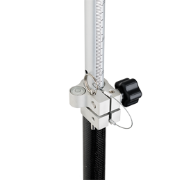 Geo Fennel G25 Carbon Fibre Surveyors Pole (2.5m) Prism Pole,