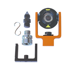 HD Mini Prism Set, Surveying Prism & Target, Surveyors Prism,