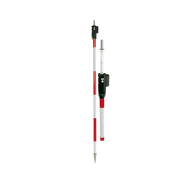 Geo Fennel L23 Prism Pole with Fennel Optical Square Adaptor Range Pole, Surveying Rod, Surveyor Prism Pole