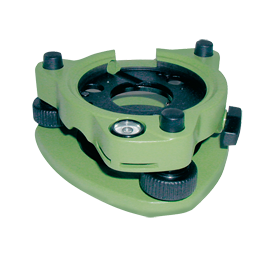 Tribrach AJ 10-D, with Optical Plummet, Green, Suit Surveying