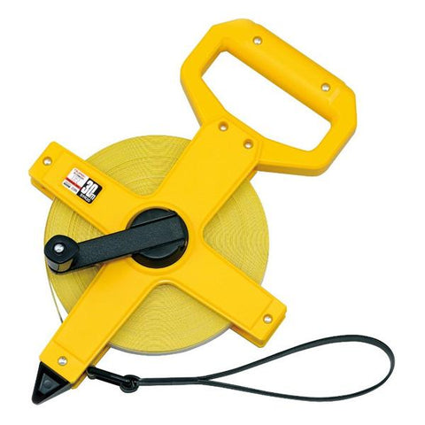 Tajima SYMRON R 50m Fibreglass with end hook Measuring Tape