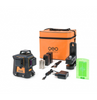 Image of geo-FENNEL Geo6X SP Green 3 x 360 Multiline Laser Level, with soft bag