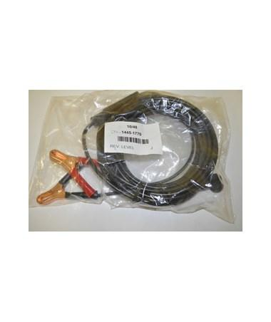Spectra Precision CABLE, 12V BATTER W/CLAMPS
