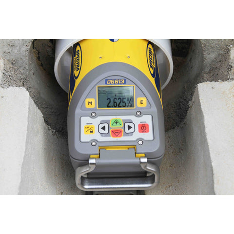 Spectra Precision DG613 RED BEAM Pipe Laser Level, Drainage Laser, Plumbing Laser Level