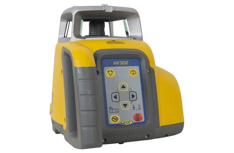 Spectra Precision HV302-2 HOR/VERT Rotary Laser Level, RC402N REMOTE, HR150U