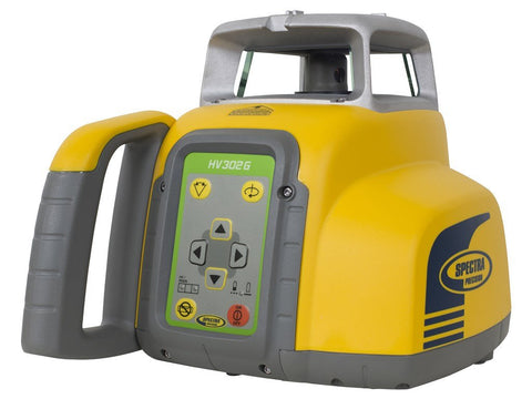 Spectra Precision HV302G-7 Rotating Laser Level with HL760 RECEIVER, CLAMP, RC402N,