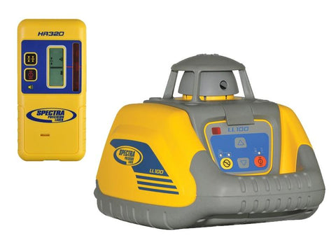 Spectra Precision LL100-3 Rotating Laser Level  with TRIPOD, Rotary Laser Levels