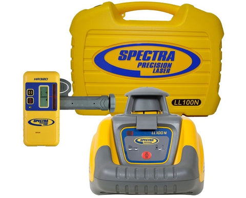 Spectra Precision LL100N Rotary Laser Level, Rotating Laser Level, Laser Tools