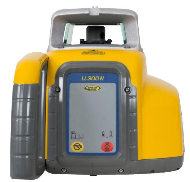 Spectra Precision LL300N with HL450 Receiver, Rotary Laser Level, Rotating Laser,