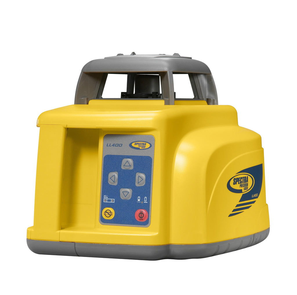 Spectra Precision LL400-4AU Rotating Laser Level with HL700 RECEIVER, AU RECHARGEABLE BATTERIES