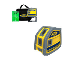 Spectra Precision LP51G - 5 x Green Beam Laser Point Laser Level, Laser Tools