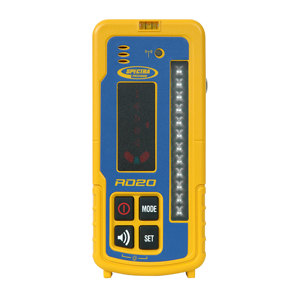 Spectra Precision RD20 Wireless Remote Display, Machine Control for Laser Levels