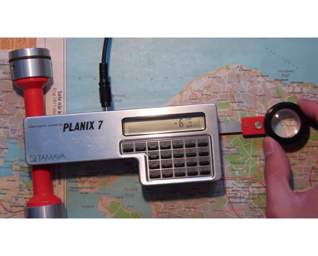 TAMAYA PLANIX 7 DIGITAL PLANIMETER Map Measuring