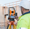 Image of Geo Fennel FTS 102 + SurvCE - Total Station Reflectorless, Laser Measuring Surveying