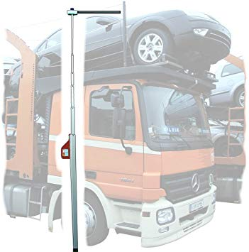 Telefix Telescopic Vehicle Height Measuring Pole 10m with Carry Bag & Cross Bar
