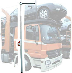 Telefix Telescopic Vehicle Height Measuring Pole 5m with Carry Bag & Cross Bar